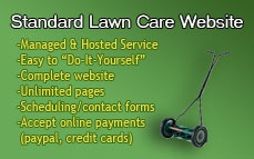 Standard Lawn Care Website