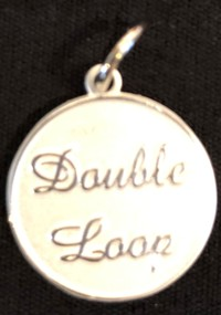 Silver Colored: Double Loop