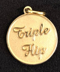 Gold Colored: Triple Flip