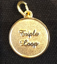 Gold Colored: Triple Loop