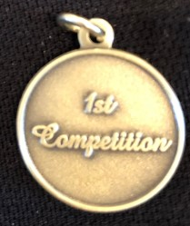Bronze Colored: 1st Competition