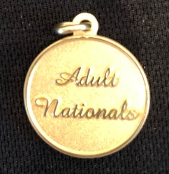Gold Colored: Adult Nationals