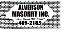 Alverson Masonry Inc. Madison, SD